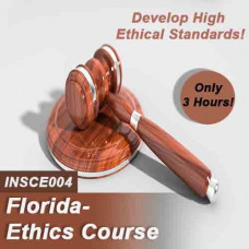 Florida:  3 hr All Licenses CE - Required Ethics Course